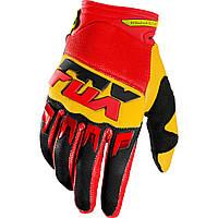 Мото перчатки FOX DIRTPAW MAKO GLV желтые, S (8)