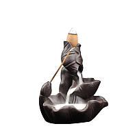 Курильница Тихий ручей (темно-коричневая, матовая)
