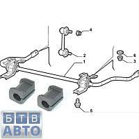 Втулка заднього стабілізатора Fiat Doblo 46767262, фото 1