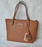 Стильная женская сумка Майкл Корс. Коричневая