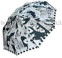 Женский зонт Zest Черно-белое фото ( автомат, 10 спиц ) арт. 53616-26