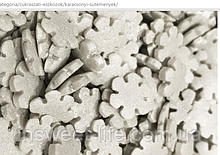 Сахарные снежинки белые  1,3 кг/упаковка