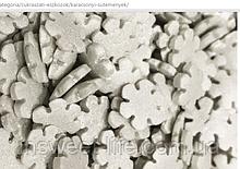 Цукрові сніжинки білі 1,3 кг/упаковка