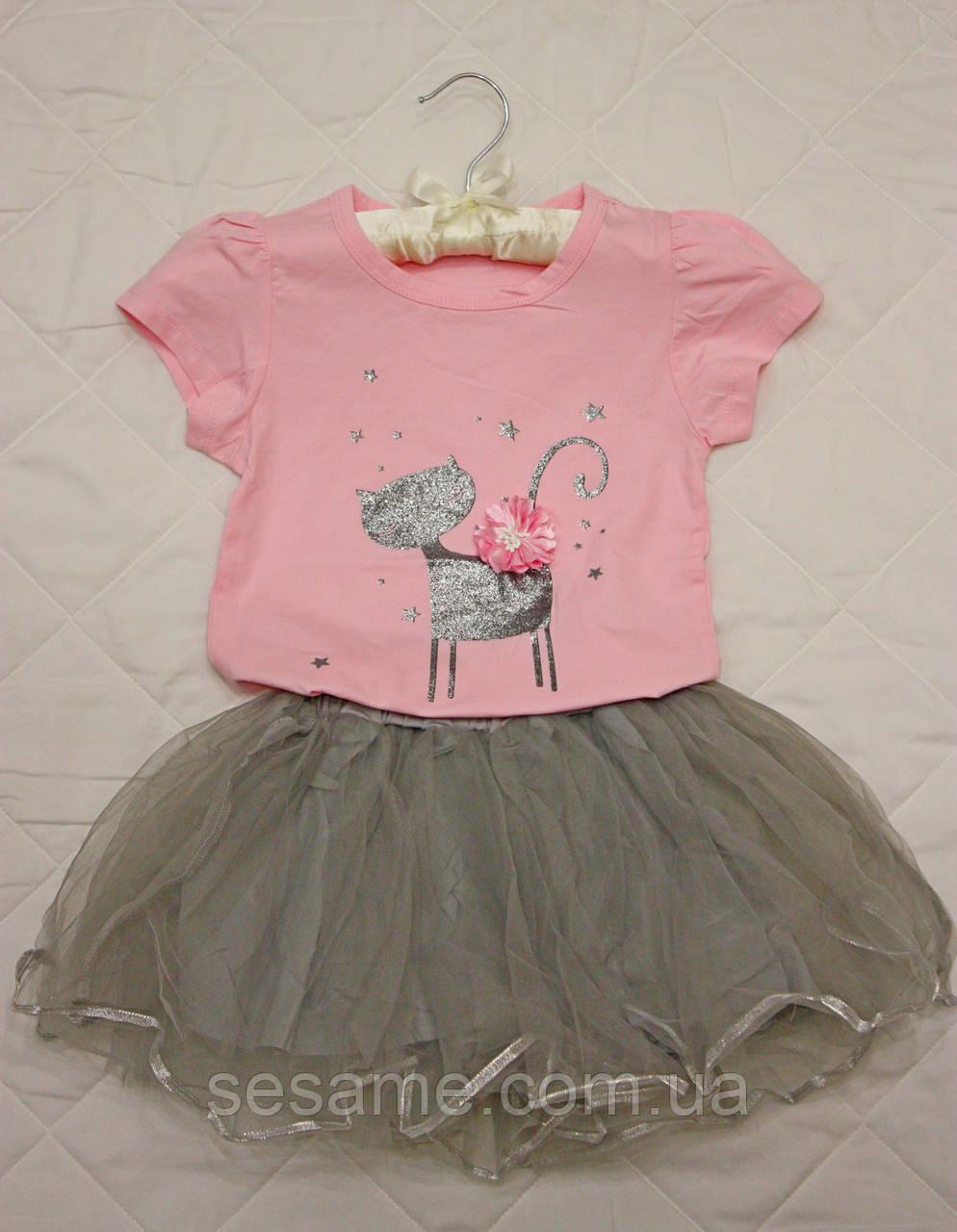 Детский костюм бусинки Кошечка для девочки