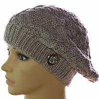 Модная шапка молодежная женская