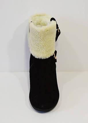 Женские черные ботинки Kluchini 2065, фото 2