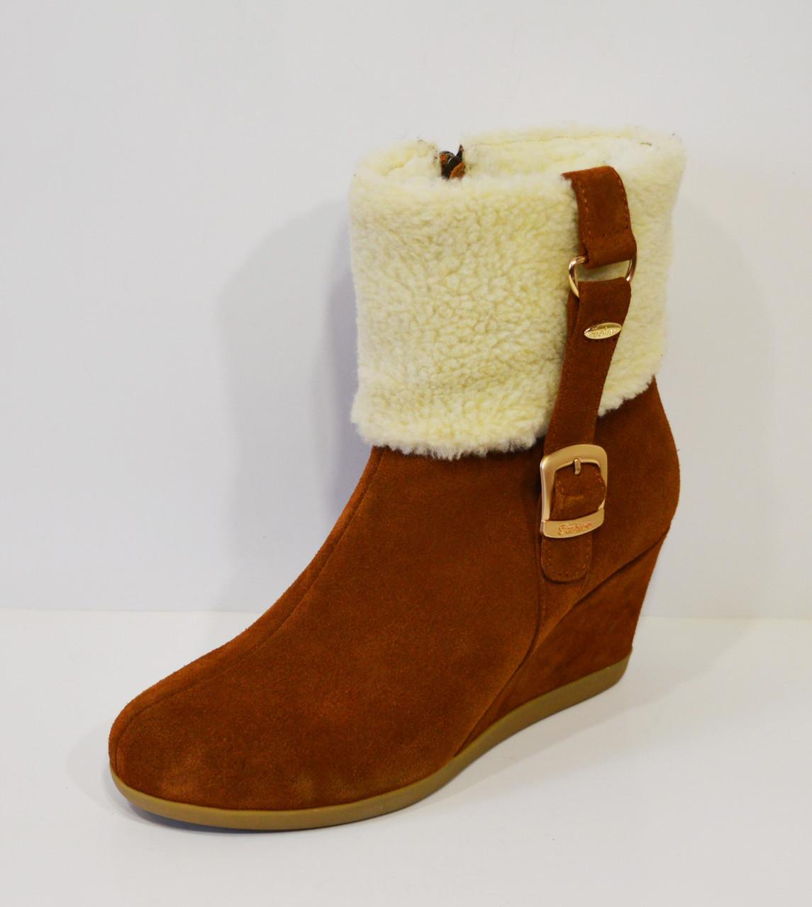 Женские коричневые ботинки Kluchini 2065