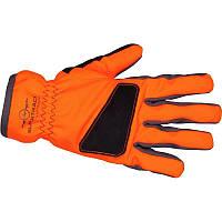 Перчатки мужские охотничьи SOLOGNAC SUPERTRACK 500 оранжевые