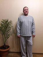 Пижама мужская теплая начесная. 48