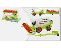 Комбайн 8089 инер-я, сельхозтехника, подвижные детали, в слюде, 42-24-20см