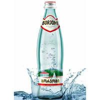 Боржоми 0,5 минеральная вода, стекло