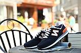 Кроссовки в стиле New Balance 520 сине-оранж., фото 3