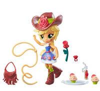 My Little Pony Equestria Girls Minis Applejack Doll Міні лялька Эпплджэк серія Шкільна вечірка
