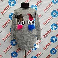 Туника детская с нашивками для девочки  Fashion.ИТАЛИЯ., фото 1