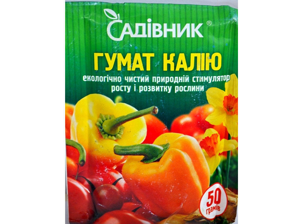 Гумат калия, 50 г