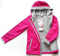 Куртка кофта для активных деток для занятий спортом на девочку девочки