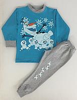 Домашний костюм детский. Снеговик.