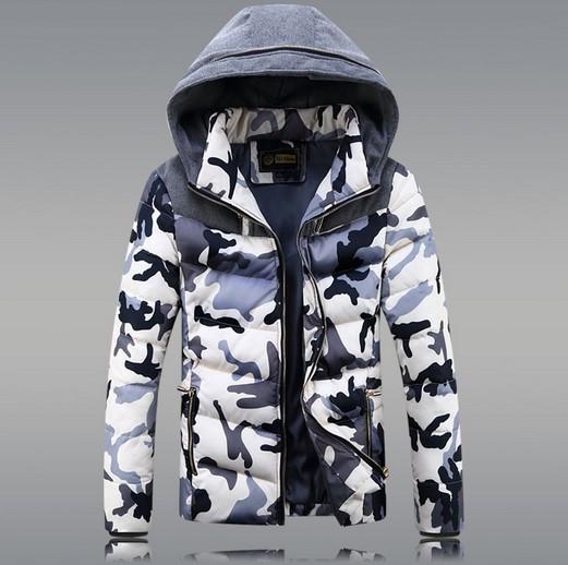 Мужской зимний пуховик. Мужская куртка Модель 1033
