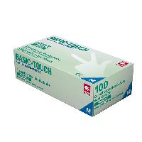 Перчатки латексные без пудры, AMPri Basic-Touch 5,2г, 100 шт/уп.