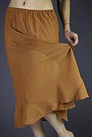 Шифоновая женская юбка