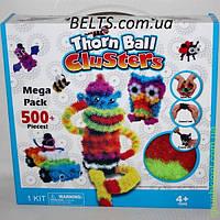 Мягкий конструктор липучка Bunchems 500 деталей, детская игрушка Банчемс, фото 1