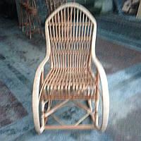 """Кресло-качалка из лозы""""Ромб"""""""