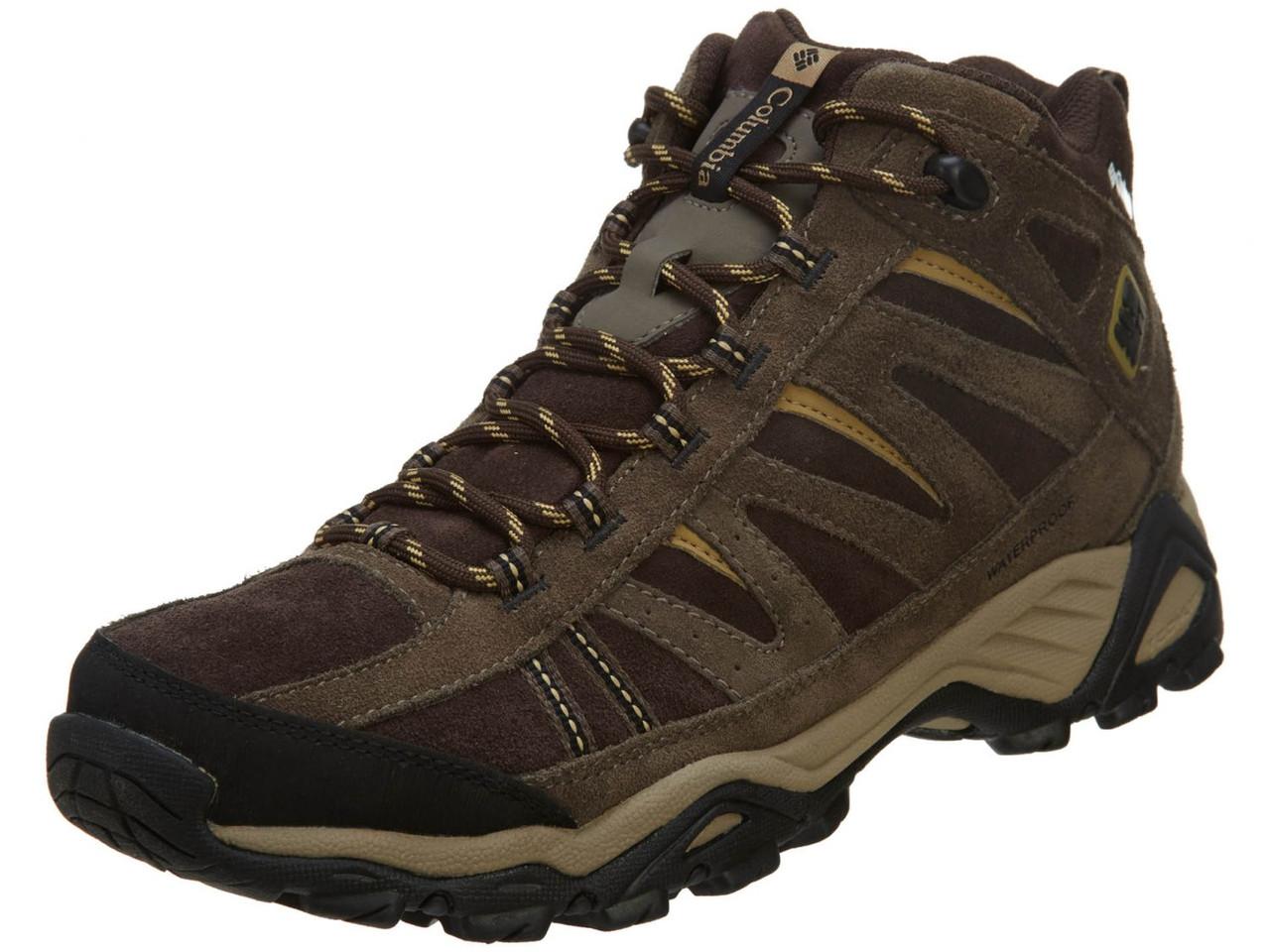 Мужские ботинки Columbia North Plains Mid Leather Waterproof Boot  YM5095-232 ( Оригинал ) - c195b7337e8