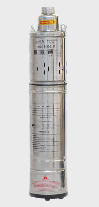 Свердловинний насос Euroaqua 4QGD 1.5-60-0.5 шнековий