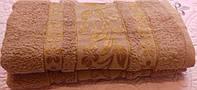 Банные махровые полотенца 70х140 см