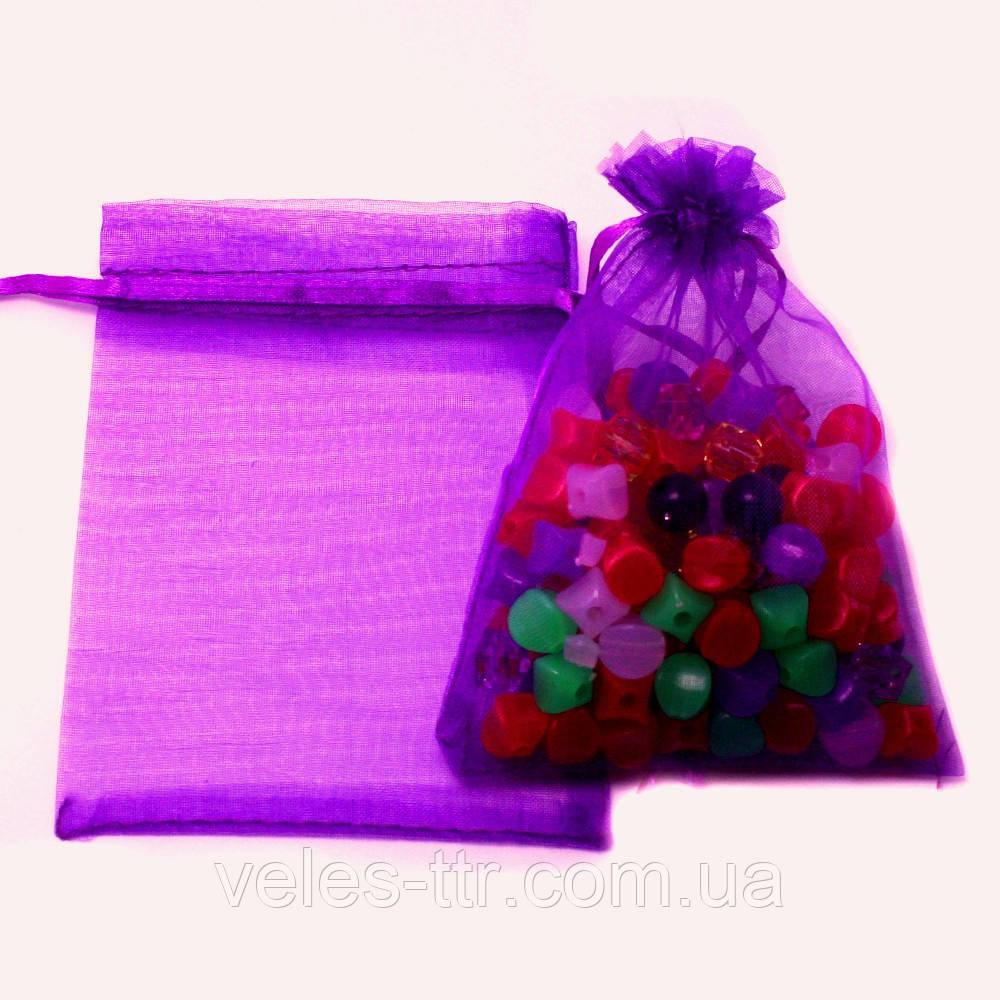 Мешочек из органзы 9х12 см Фиолетовый