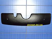 Зимняя заглушка решётки радиатора Skoda Fabia I верх 1999-2007 матовая Fly. Утеплитель решётки Шкода Фабия