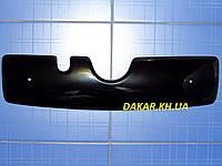 Зимняя заглушка решётки радиатора Skoda Fabia I верх 1999-2007 глянец Fly. Утеплитель решётки Шкода Фабия