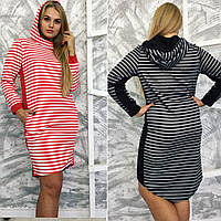 Женское модное платье-туника с хвостом