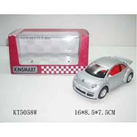 Игра Kinsmart Машина (КТ5058W) VOLKSWAGEN New Beetle RSi