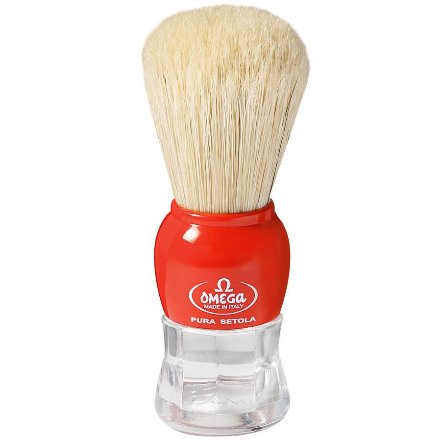 Omega 10072 помазок для бритья из кабана