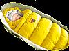 Пуховый конверт в коляску с подкладкой на синтепоне Inflated-А, Ontario Baby