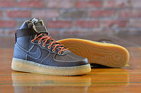 Мужские кроссовки Nike Air Force 1 high (brown/light brown) - 24Z