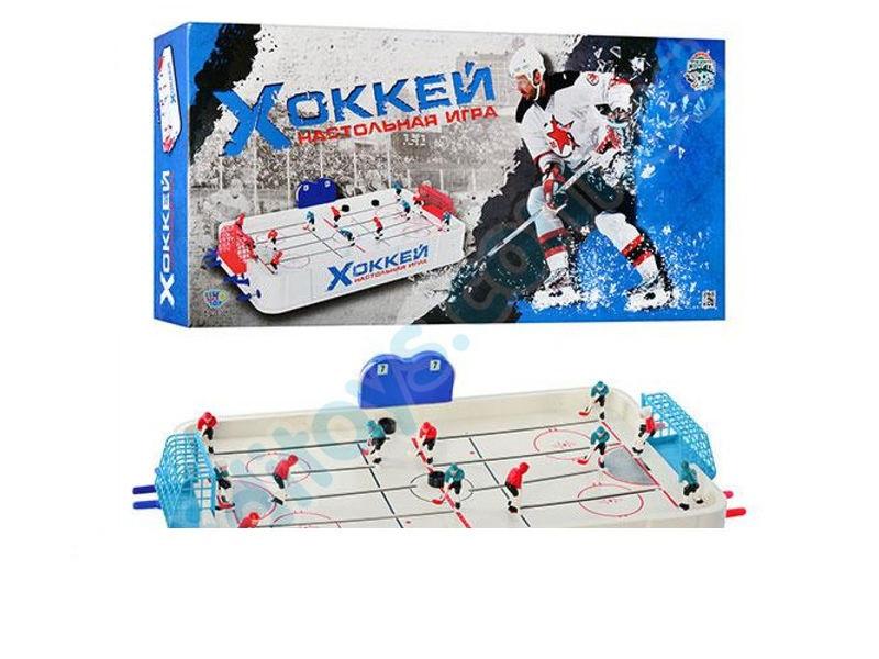 Дитячий хокей 0704 (6шт) на штангах, супер якість