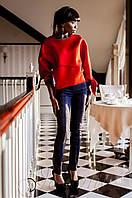 Стильные женские темно-синее брюки Линколь Jadone  42-50 размеры