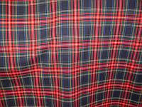 Костюмная Шотландка красн/синяя клетка