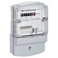 Счетчик электроэнергии НІК 2102-02 М1В однофазный однотарифный 5(60)А 220В, NiK