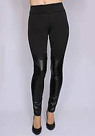 Лосины женские модель ботфорты черные, Размеры: 40-50