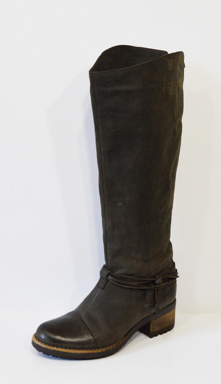 Темно-коричневые женские сапоги Lucas 6278