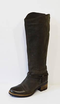 Темно-коричневые женские сапоги Lucas 6278, фото 2