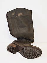 Темно-коричневые женские сапоги Lucas 6278, фото 3