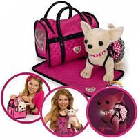 Chi Chi Love Собачка Чихуахуа Розовая мечта в светящемся платье с ковриком и сумочкой