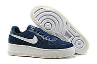 Мужские кроссовки  Nike Air Force 1 low (navywhite) - 37Z