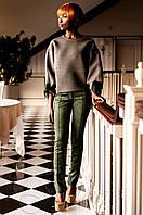 Стильные женские   брюки хаки Линколь Jadone  42-50 размеры