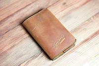 Кожаная обложка для паспорта Knockwood- Leeds, Brown