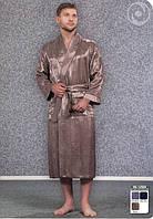 Шелковые мужские халаты Nusa